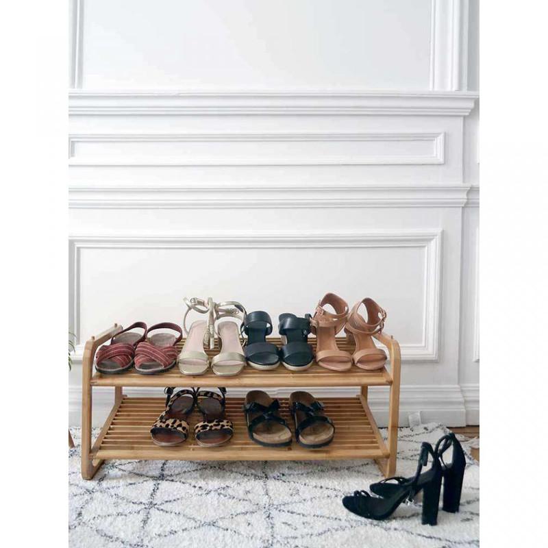 Compactor schoenenrek - stapelbaar - 75x33x34 cm