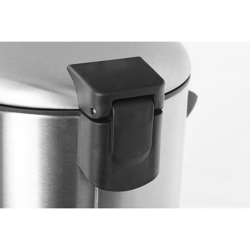 EKO pedaalemmer Belle - 3 liter - RVS mat