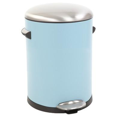 EKO pedaalemmer Belle - 3 liter - lichtblauw