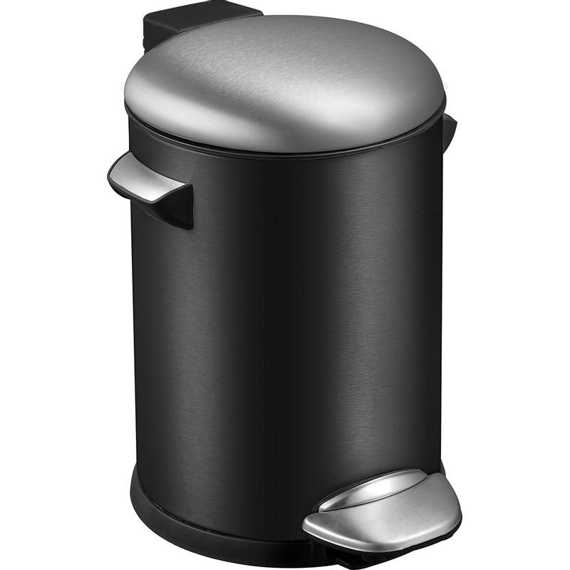 EKO pedaalemmer Belle - 5 liter - zwart