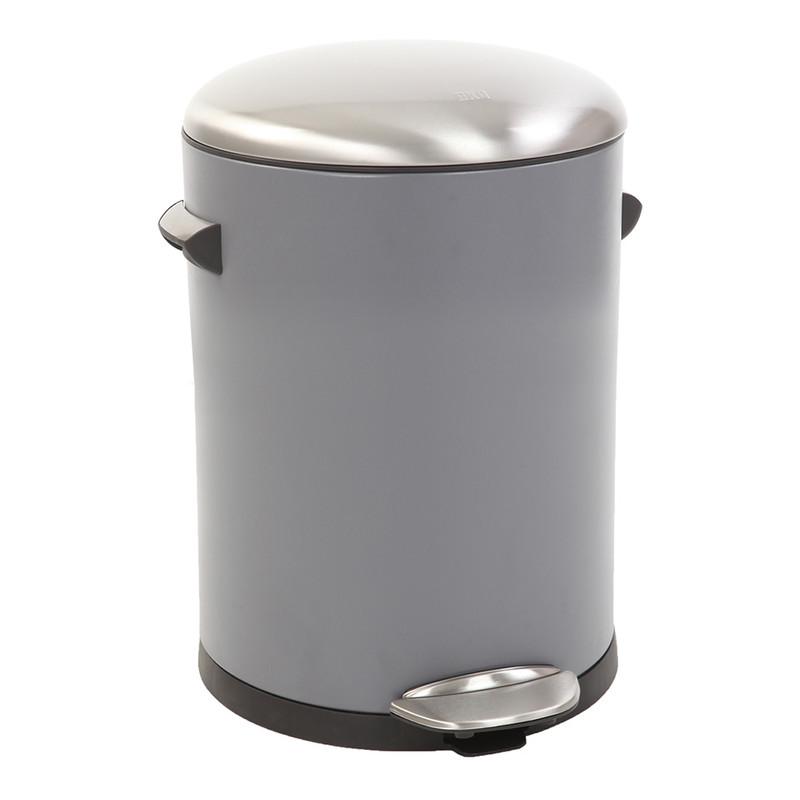 EKO pedaalemmer Belle - 5 liter - grijs