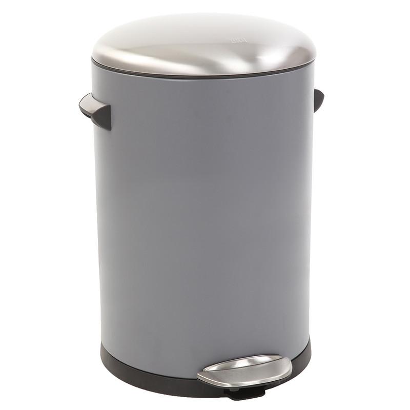 EKO pedaalemmer Belle - 12 liter - grijs