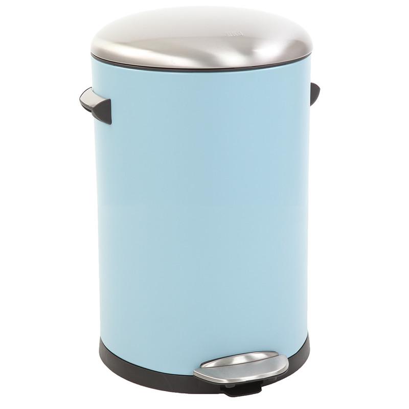 EKO pedaalemmer Belle - 12 liter - lichtblauw