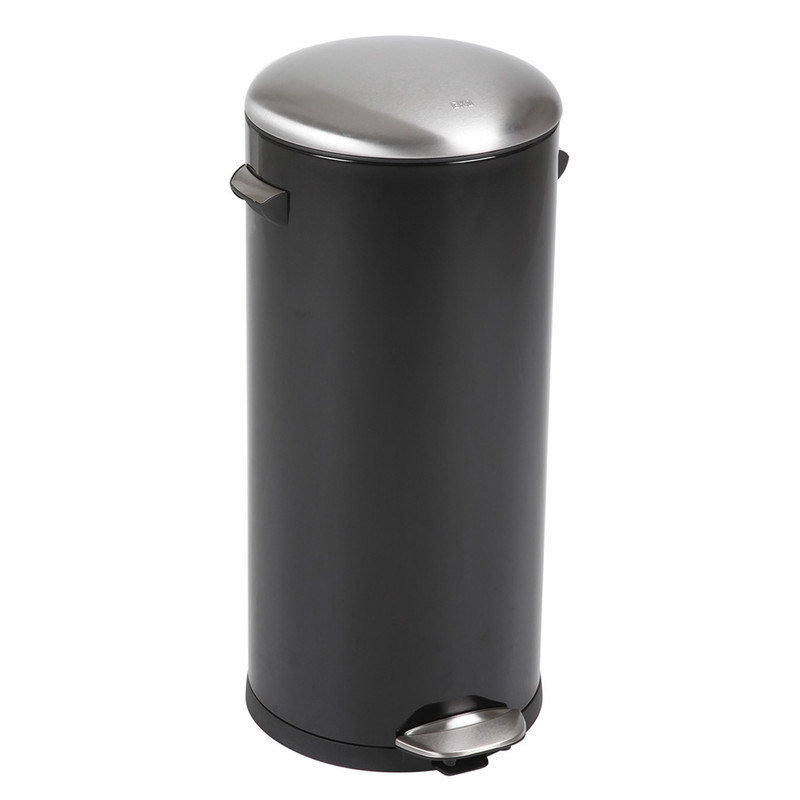 EKO pedaalemmer Belle - 30 liter - zwart