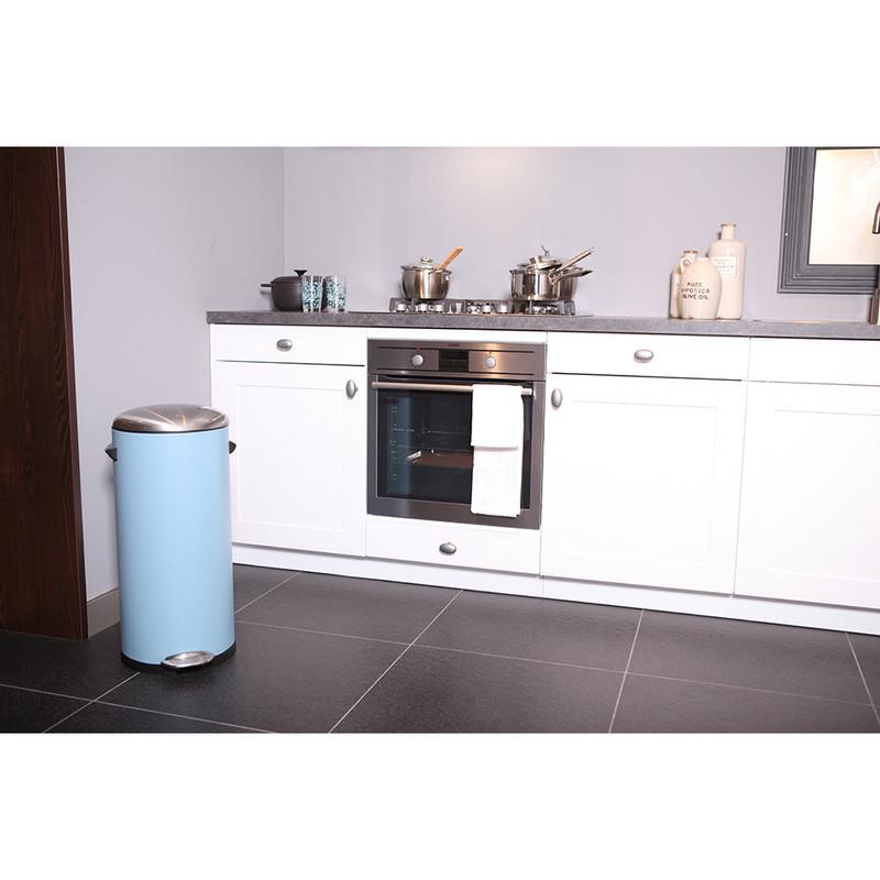 EKO pedaalemmer Belle - 30 liter - lichtblauw
