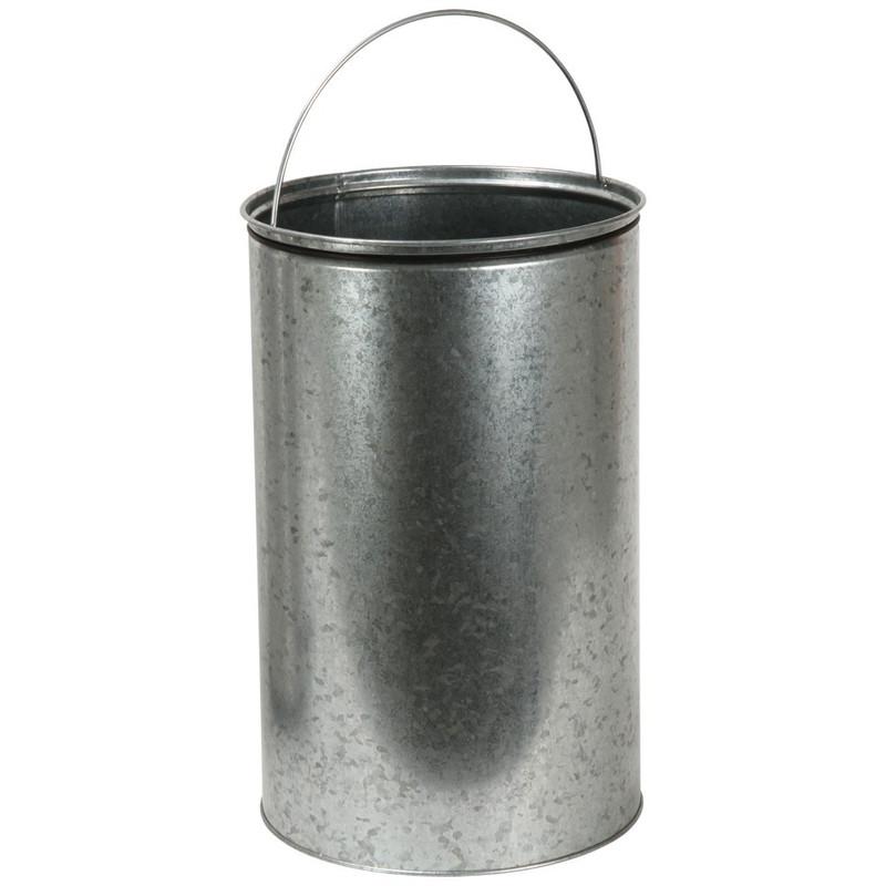 EKO kickcan - 33 liter - chroom