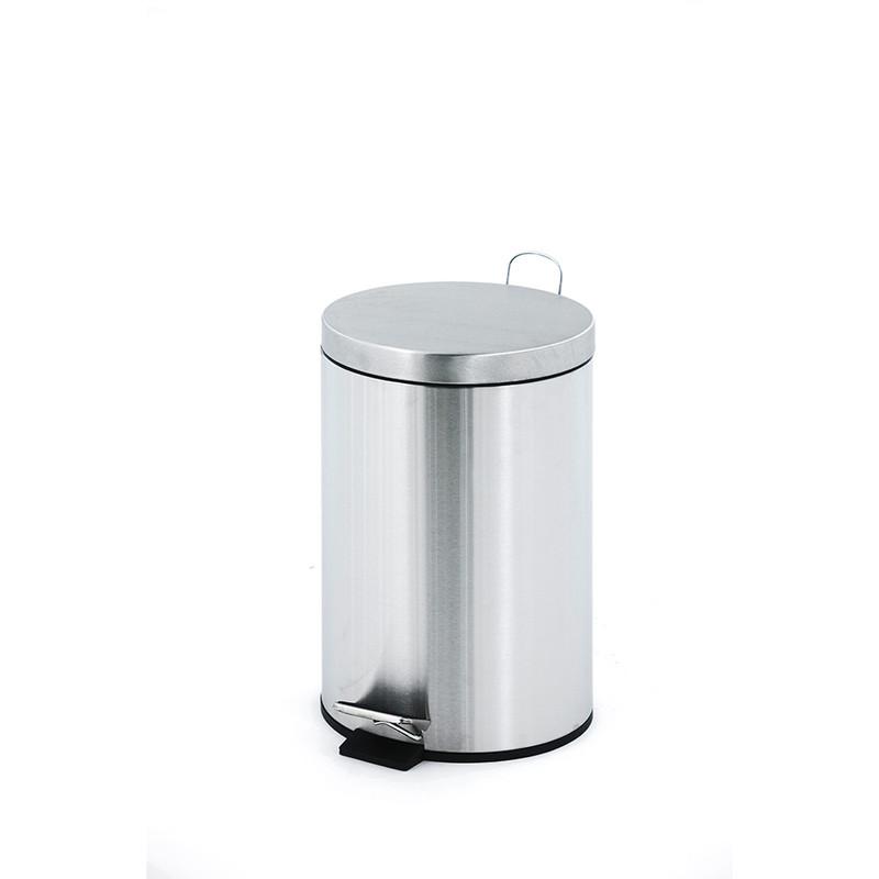 V-Part pedaalemmer classic - 12 liter - RVS
