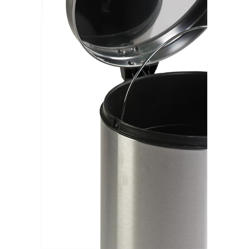 V-Part pedaalemmer classic - 30 liter - RVS mat