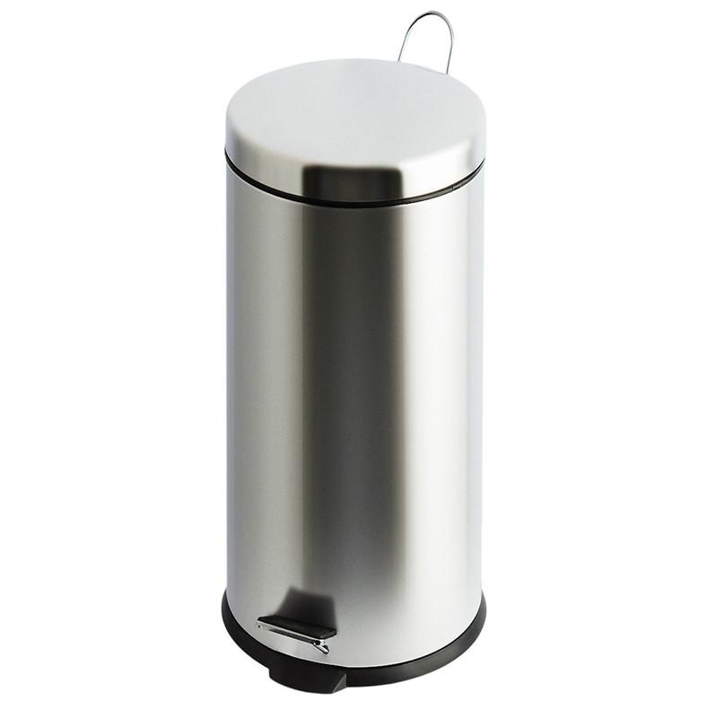 V-Part pedaalemmer classic - 30 liter - RVS glans