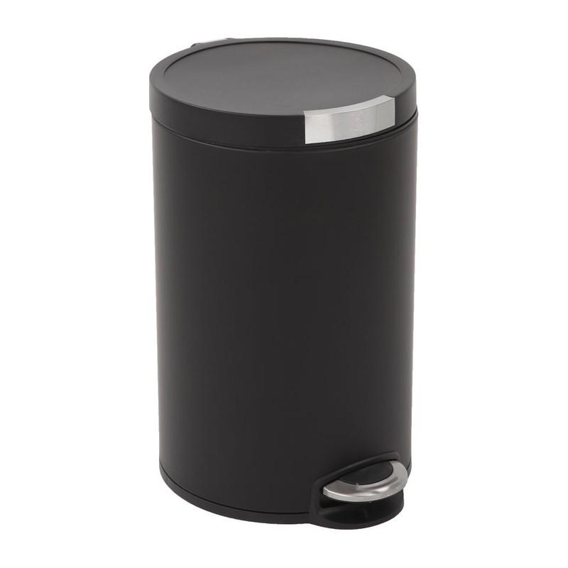 EKO pedaalemmer artistic - 12 liter - zwart