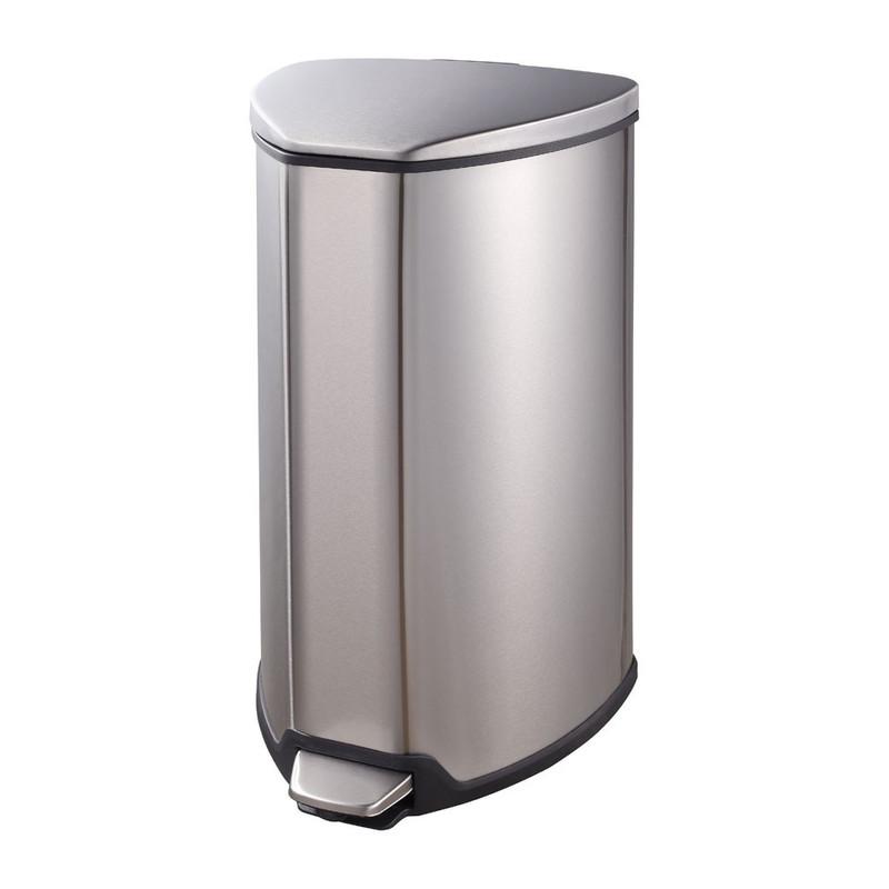 EKO pedaalemmer Grace - 15 liter - RVS mat
