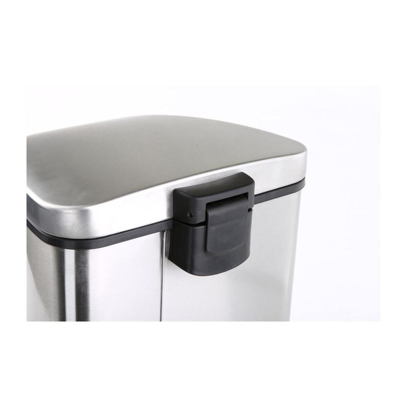 EKO pedaalemmer Grace - 35 liter - RVS mat