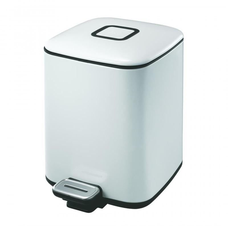 EKO pedaalemmer regent - 6 liter - wit
