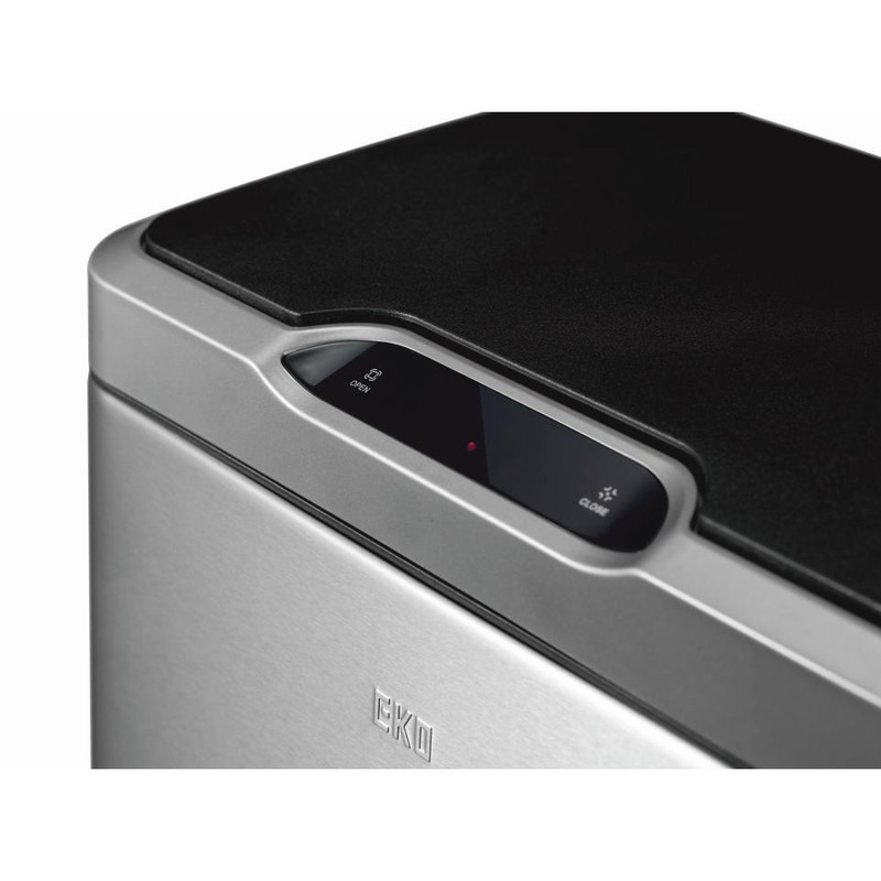 EKO sensor bin mirage - 45 liter - RVS mat