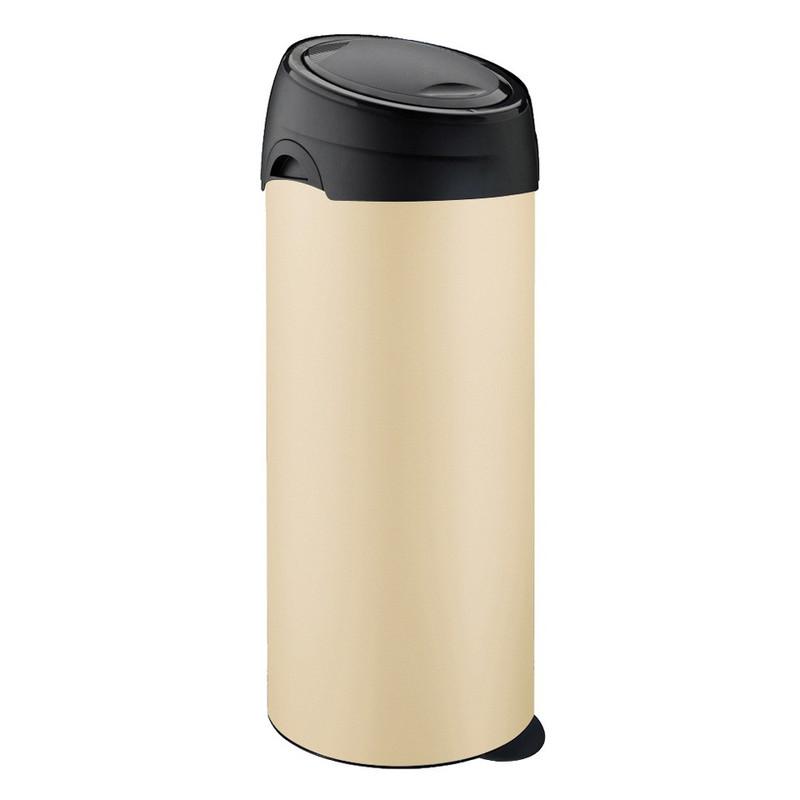Meliconi softtouch afvalbak - 40 liter - crème