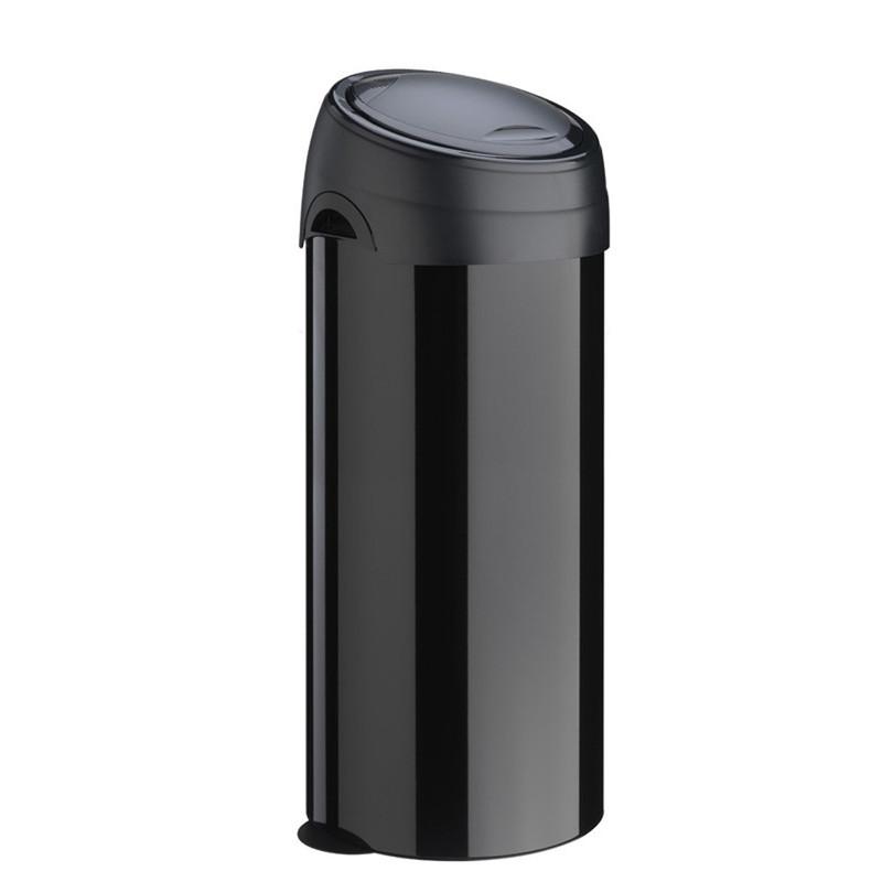Meliconi  softtouch afvalbak - 40 liter - zwart