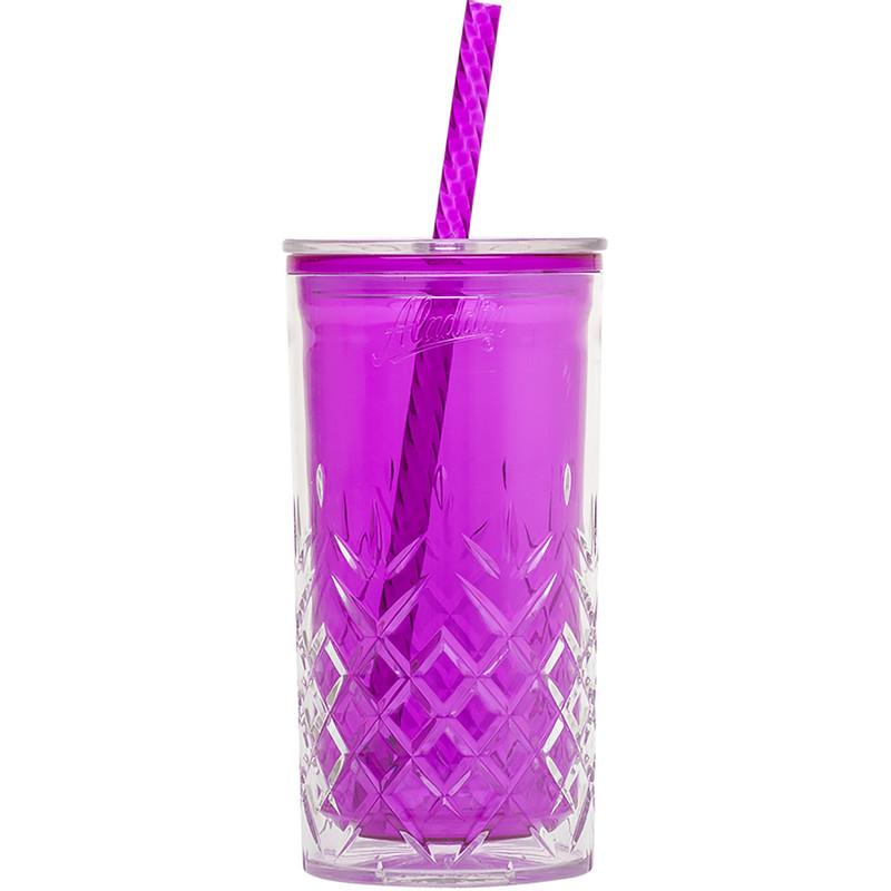 Aladdin classic drinkbeker dubbelwandig - 47 cl - paars