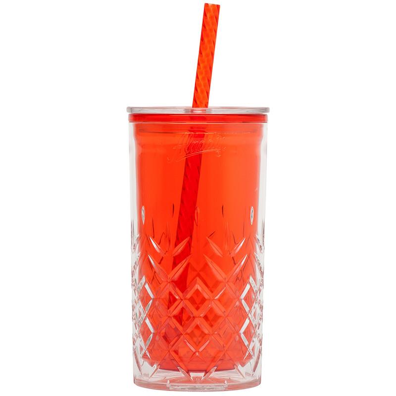 Aladdin classic drinkbeker dubbelwandig - 470 ml - rood