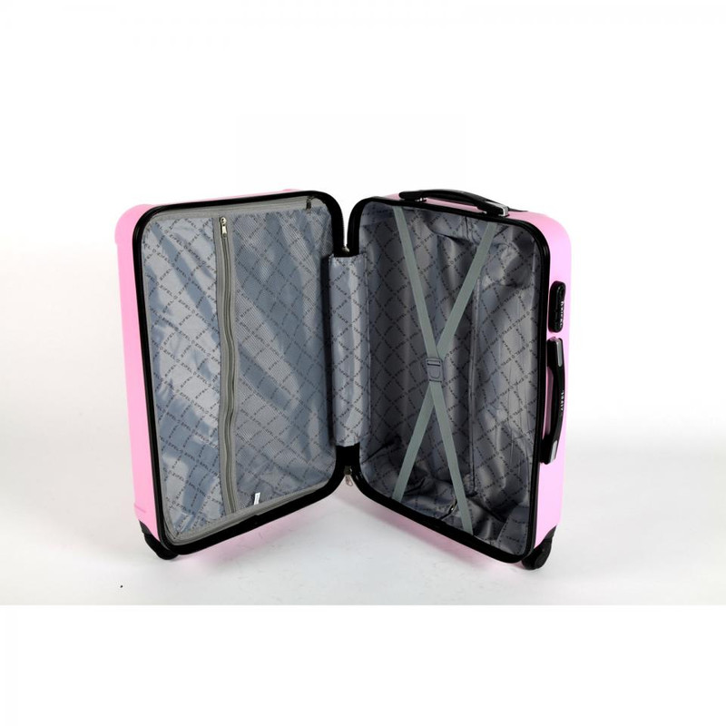 Adventure Bags Nice koffer - 50 cm - roze