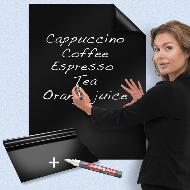 Legamaster magic chart blackboard - 80x60 cm - 25 vellen