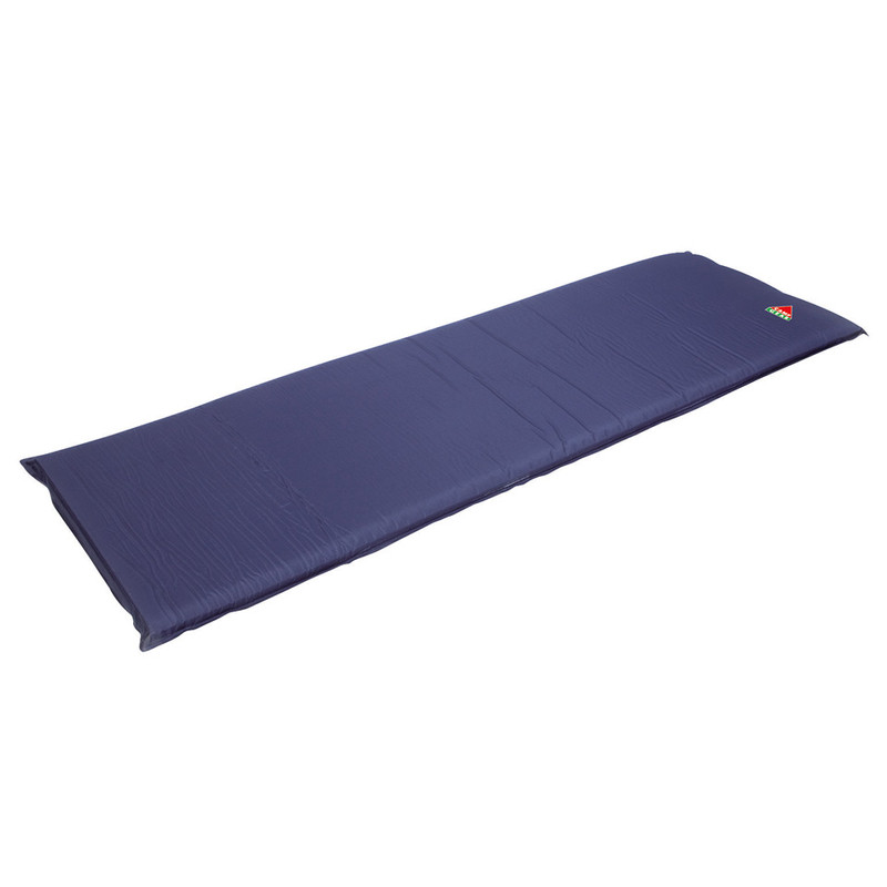 Camp Gear slaapmat zelfvullend - 195x60x5 cm - blauw