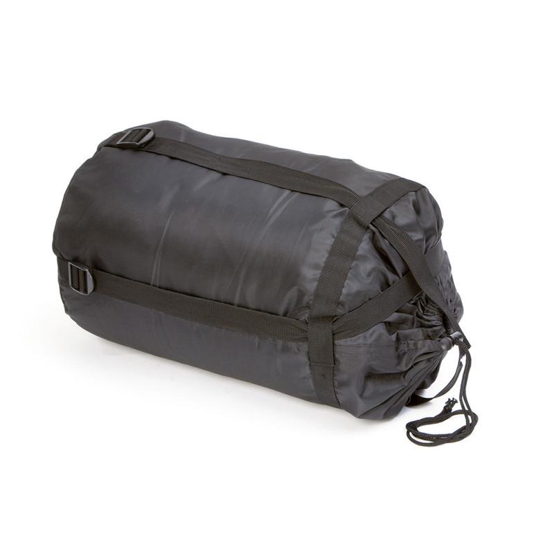 Camp Gear slaapzak comfort XL - 220x80 cm - grijs/lichtblauw