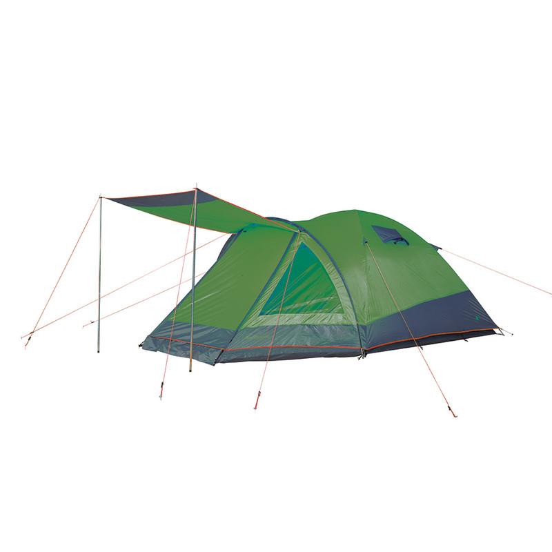 Camp Gear tent Rio Grande - 3-persoons - groen/grijs