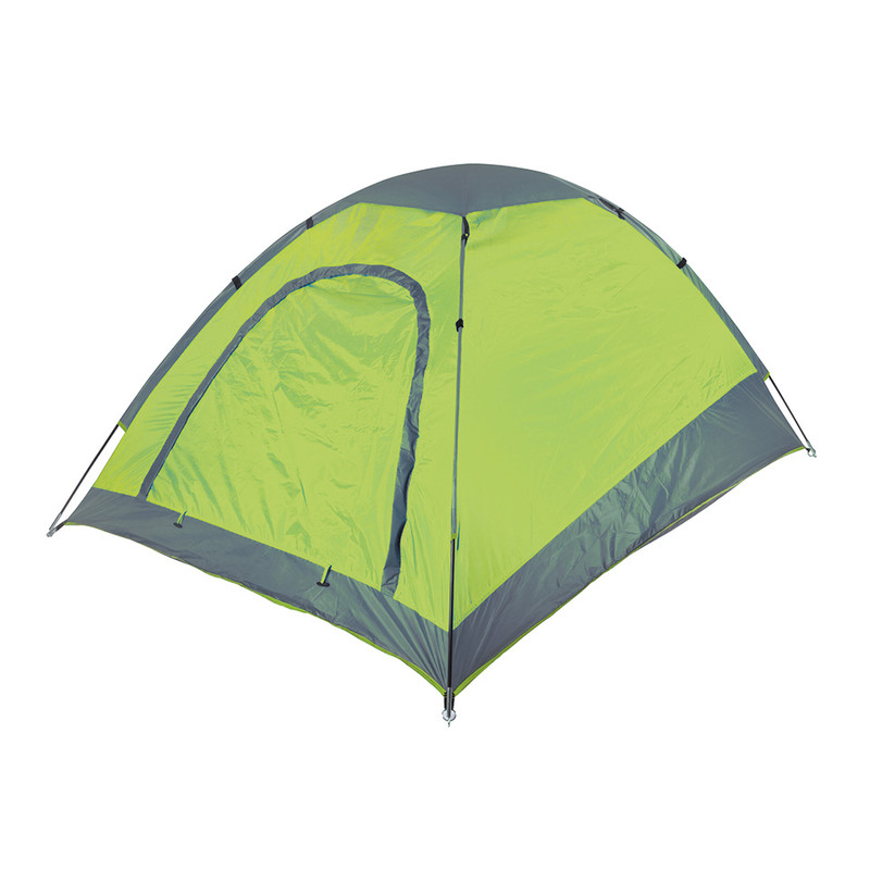 Camp Gear koepeltent festival - 2-persoons - lime