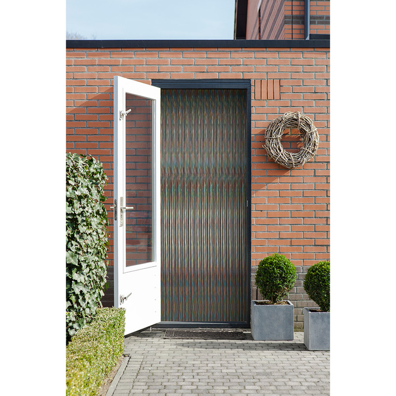 2LIF deurgordijn Malta - multikleur - 93x230 cm