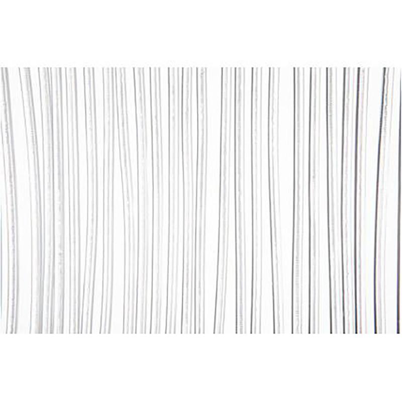 2LIF deurgordijn Malta - wit - 93x230 cm