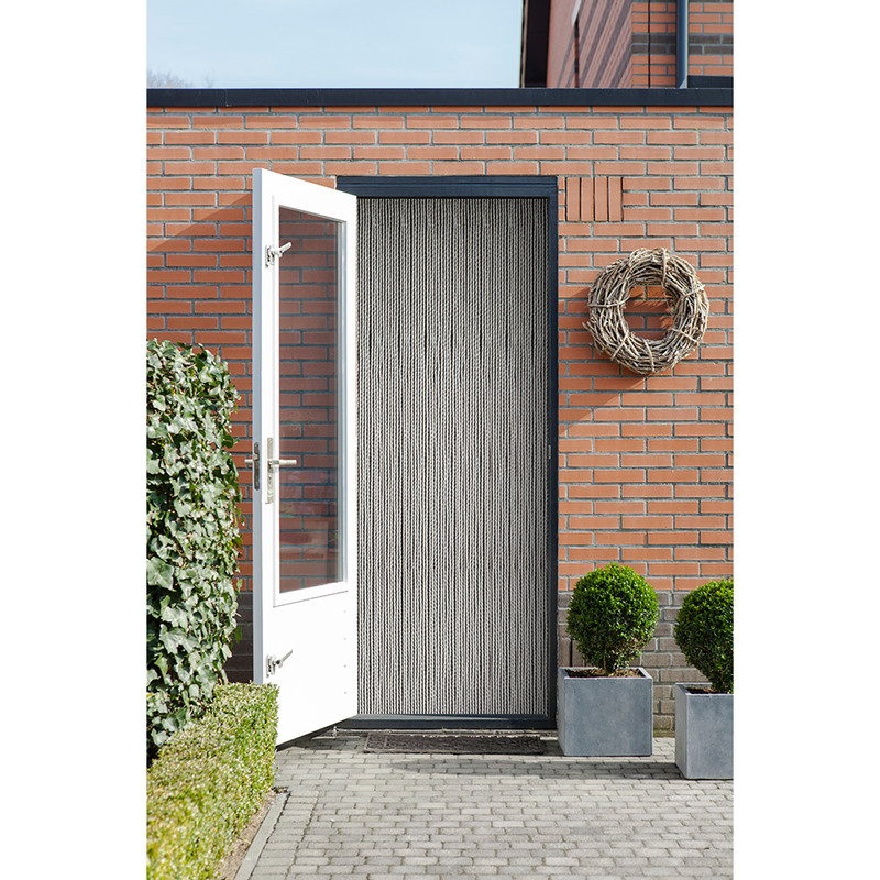 2LIF deurgordijn Alcampo - helder - 93x230 cm