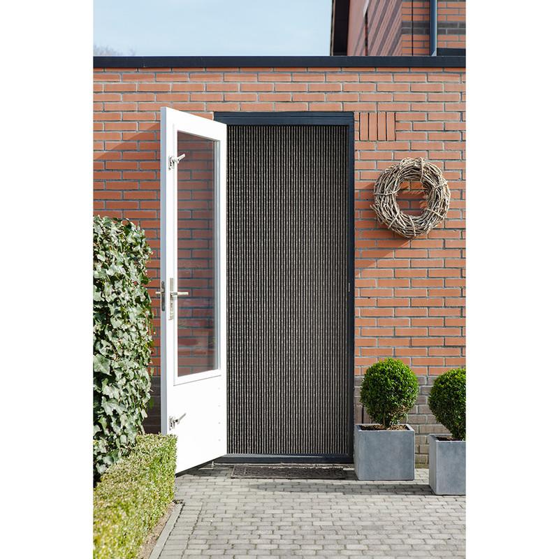 2LIF deurgordijn Trinidad - helder - 90x210 cm