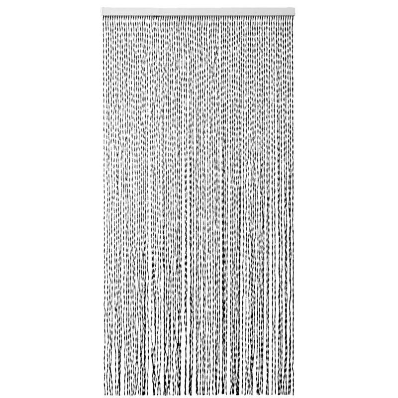2LIF deurgordijn Parijs - zwart - 93x210 cm