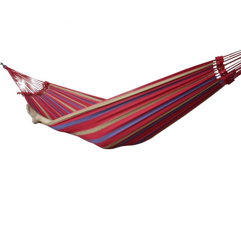 Vivere hangmat Braziliaans - 2-persoons - regal red