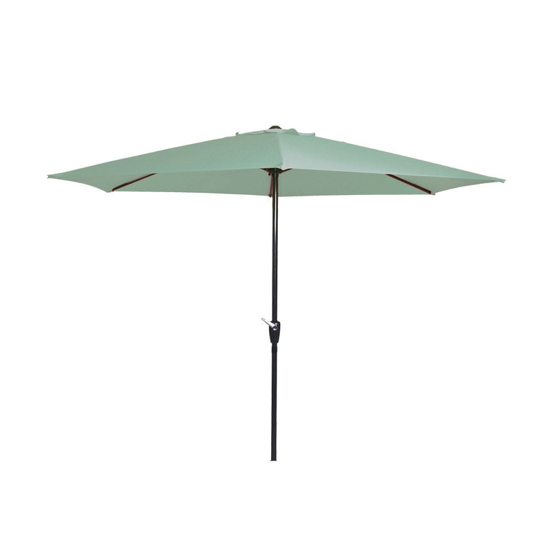 Parasol gemini - 300 cm - groen