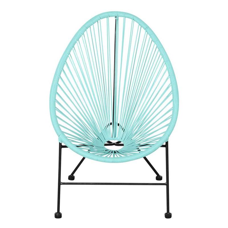 Outfit kinder loungestoel Arden – mintgroen
