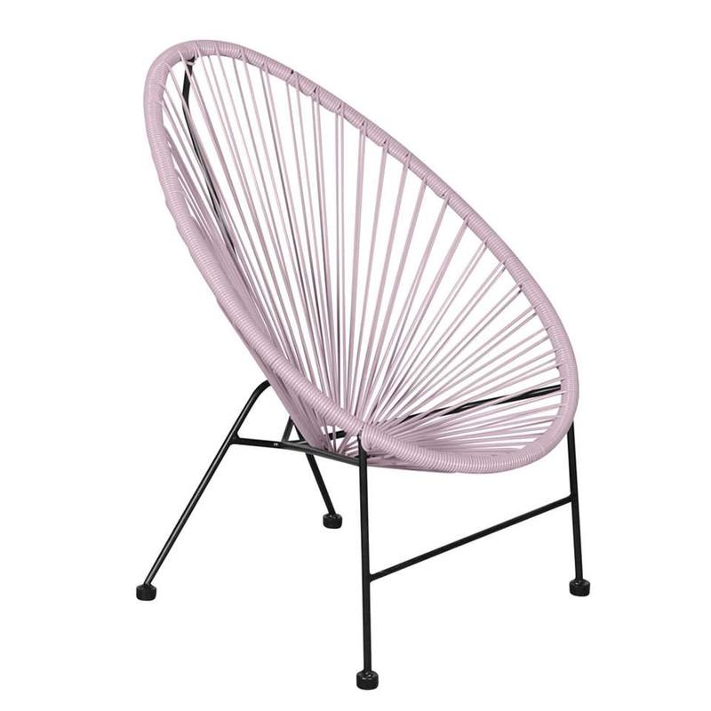 Outfit kinder loungestoel Arden - naturel