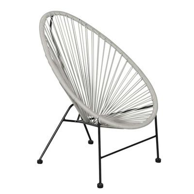Outfit kinder loungestoel Arden - grijs