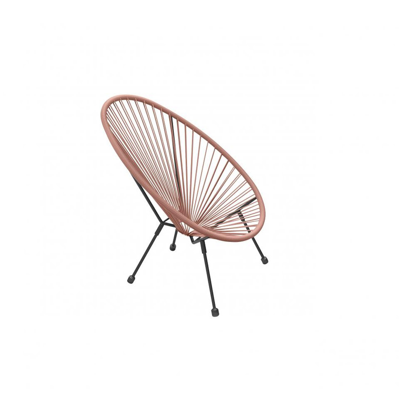 Outfit kinder loungestoel Alden 2 - rood