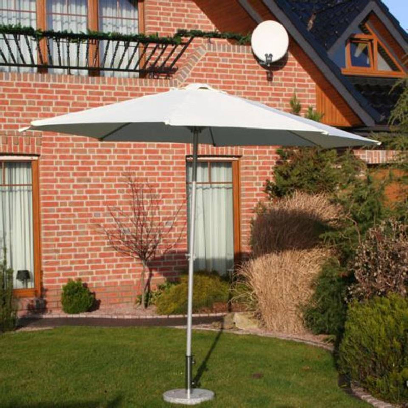 Sens-Line parasol Salou - 300 cm - taupe