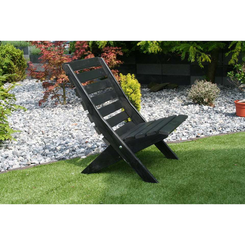 SenS-Line tuinstoel inklapbaar Sunny - zwart