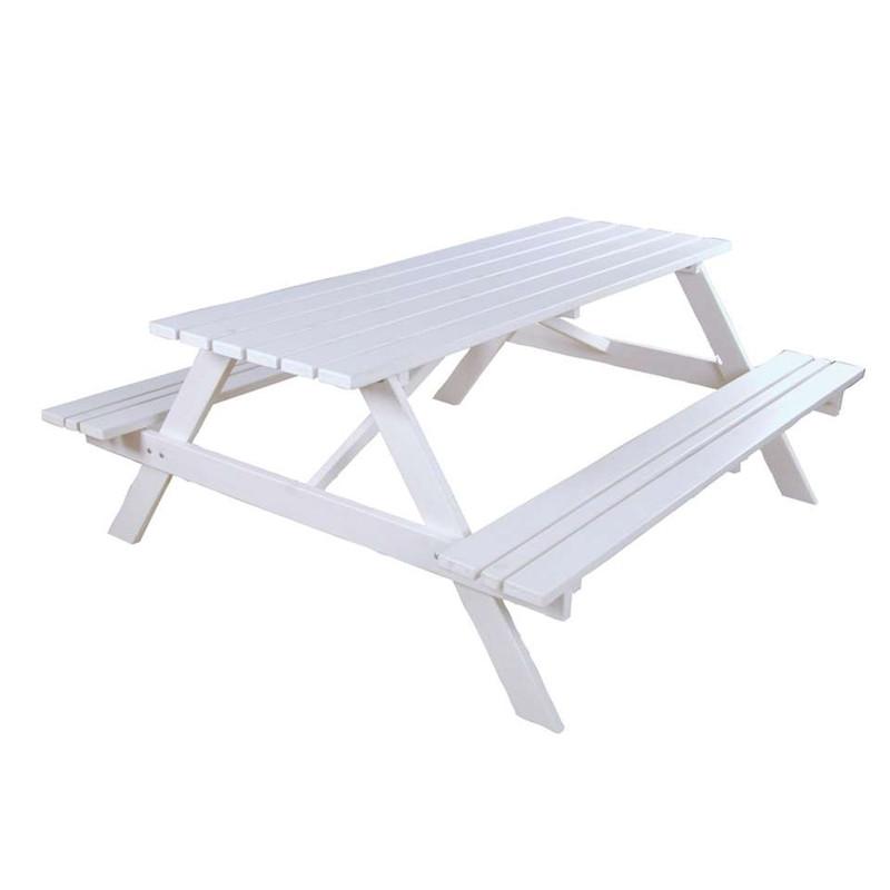 SenS-Line picknickbank - 150 cm - wit