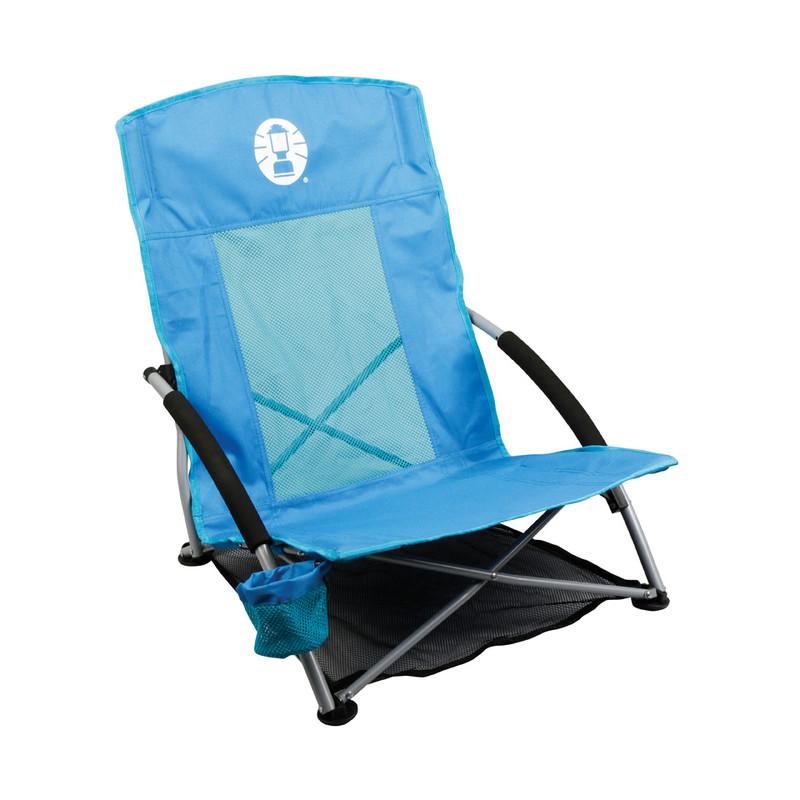 Coleman strandstoel low sling - blauw