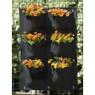 Nature plantentas - 6 zakken - zwart