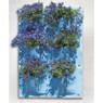 Nature plantentas - 6 zakken - blauw