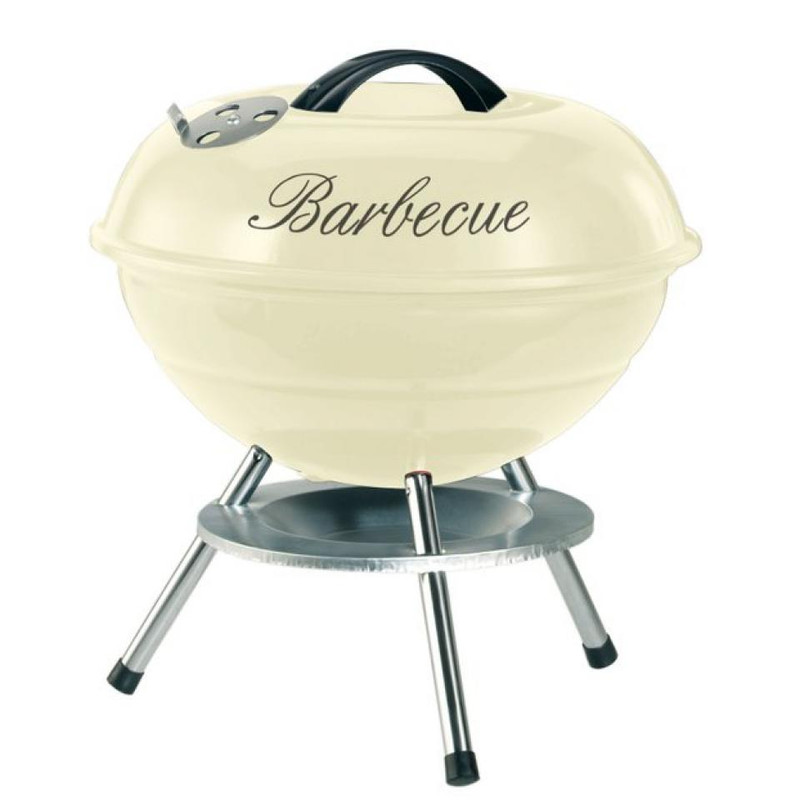 Garden Grill kogelgrill Life Style - 35 cm - crème
