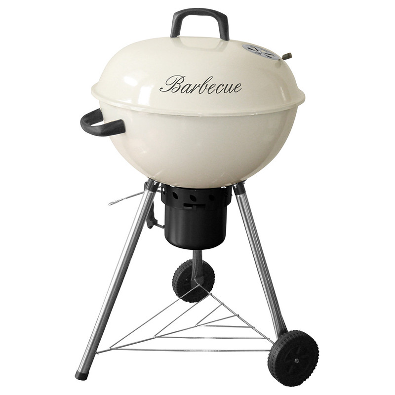 Garden Grill kogelgrill Maxi Life Style - 63 cm - crème