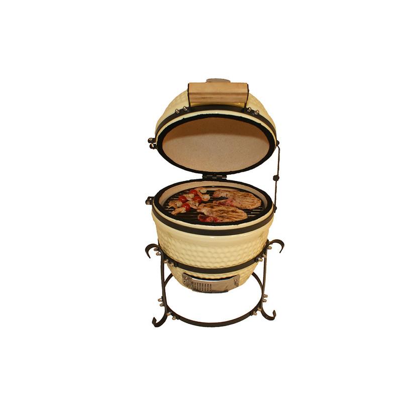 "Patton Kamado grill lifestyle - 13"" - crème"