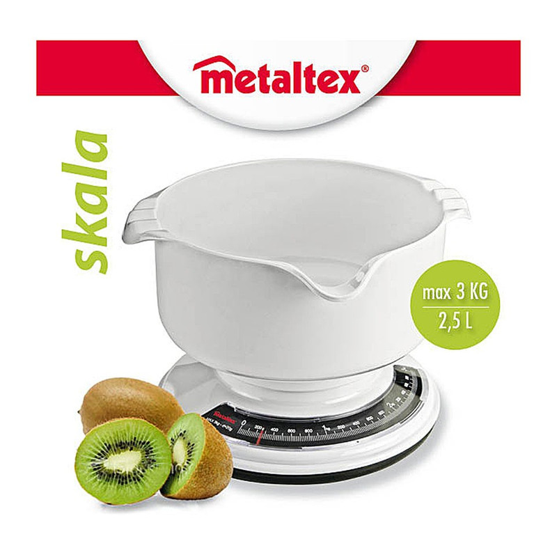 Metaltex skala keukenweegschaal
