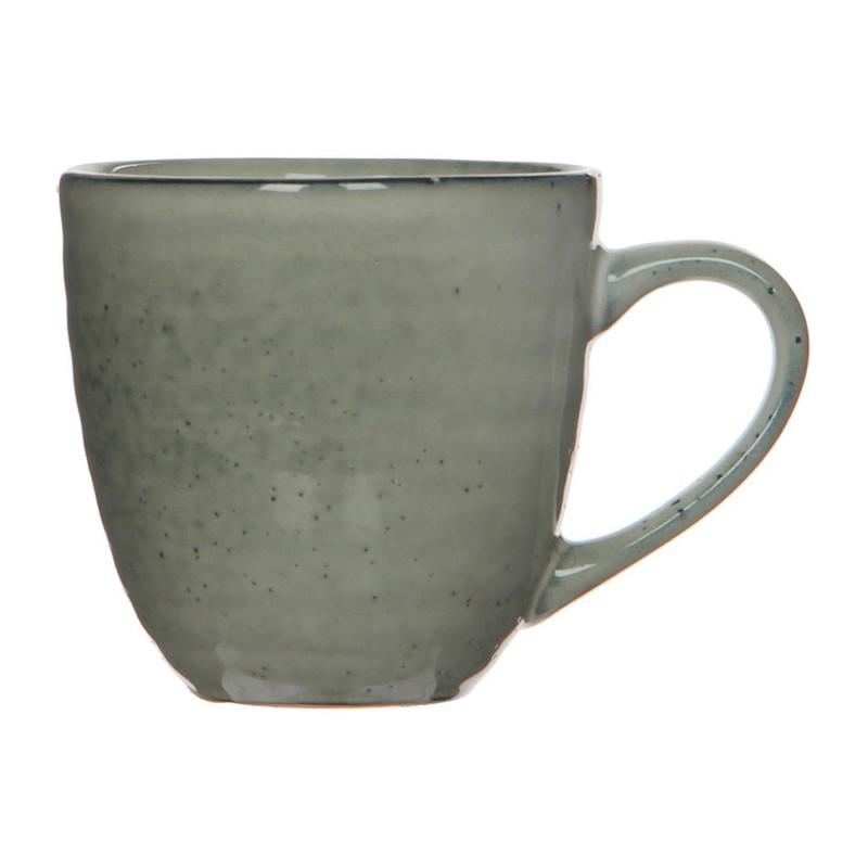 Mica beker Tabo - 9 cm - grijs